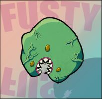 Creature 1 Colored by Fusty