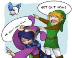 A Link Between Worlds- Link and Ravio by KittyConQueso