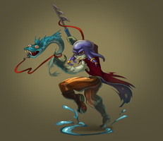 Concept fisherman Dofus style by LeL8