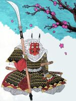 Demon samurai by imaginarypeople26