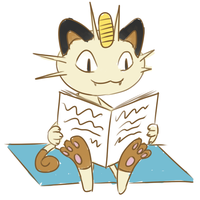 Meowth by Pyritie