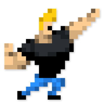 Day #62 - Johnny Bravo by JINNdev