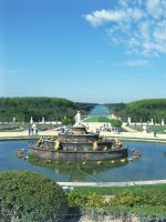 fountain at versailles by cassiwoo