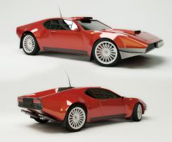 De Tomaso Pantera Rally stage by TheUncle