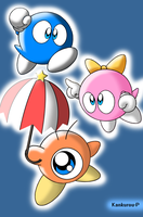Characters from Kirby by Kankurou-P