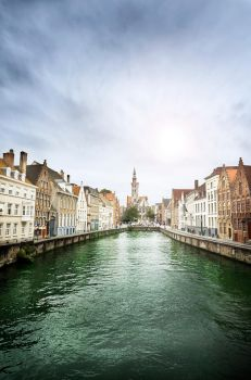 Bruges Canal View by phoelixde
