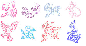 Pokemon Tattoo Pack 2 by Aerpenium