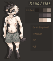 Maud Reference Sheet by RAYLOTIC