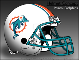 Miami Dolphins Concept -Helmet by JimmyNutini