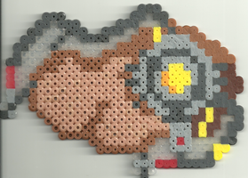 Potato Glados by Ravenfox-Beadsprites