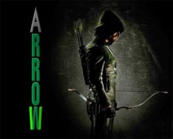 Stephen Amell 'Arrow' art by cdpetee