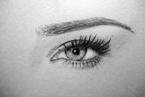 adriana lima's eye by kireji00