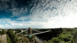 Clifton Suspension Bridge, BR by Kapische