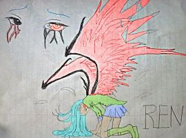 Ren ~ Stage 1 of 9 Feather's. by AnimeStar69