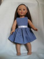 Dress 3 Front Blue Summer by TheTinyCostumer