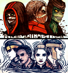 The Outworld bad boys and the Kombat gang by IveWasHere