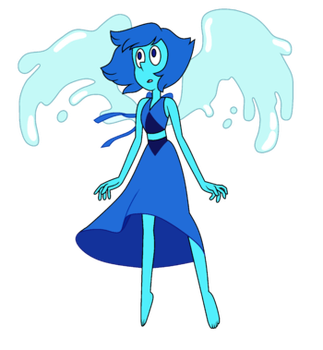 Lapis Lazuli Costume TG (LONG AND UNFINISHED) by Buff55