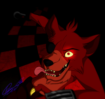 Foxy's attack by Hunderworld