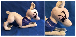 Berly's Mad Dash Dog Plush by Sophillia
