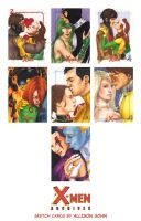 X-Men Archives Sketch Cards 12 by AllisonSohn