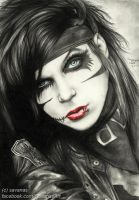 Andy Biersack by SavanasArt