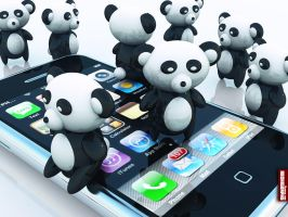 Archigraphs Panda Wallpapers by Cyberella74