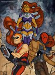 Young Justice - Red Hood and the Outlaws by YoungTitan213