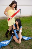 Rinoa and Selphie by Eyes-0n-Me