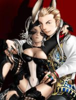 Fran x Balthier by yapi