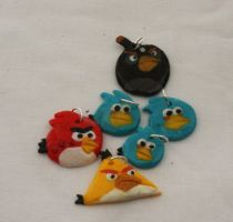 Angry Birds Charms by Wings-On-Fire