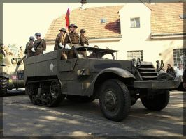 M3 Halftrack by WormWoodTheStar