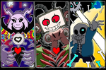 Undertale: Endgame Bosses by Zal001