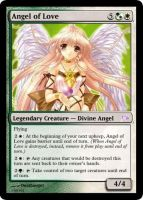 Angel of Love Magic Card by deathangel20