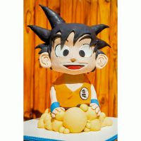 Goku Cake by I-am-Ginger-Pops