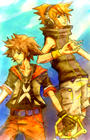 KH x TWEWY by withstarlikewords