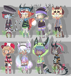 Adopt Batch #20 Auction [CLOSED] by Consumed-By-Insanity