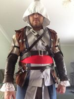 Assassin's Creed Edward Kenway Cosplay WIP: 2 by FFiamgoku