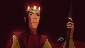 Feanor by Asphaloth