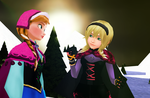 Cecilia and Anna by Dramakid99