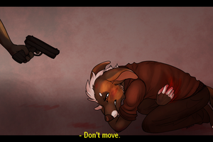 ''Don't move.'' by xWolfPrincex