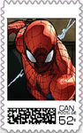 Spiderman Postage Stamp by WOLFBLADE111