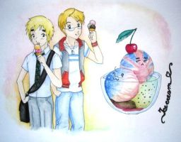 Ice cream time by Feliks-Grell