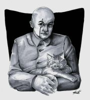Blofeld and Leo by Marker-Mistress