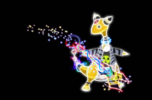 Rockin Ampharos Wallpaper by Queen-Blanca