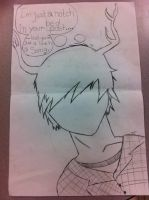 Fall out boy Song- boy with horns by forevernotsinking99