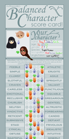 Balanced Character Scorecard by Punkichi