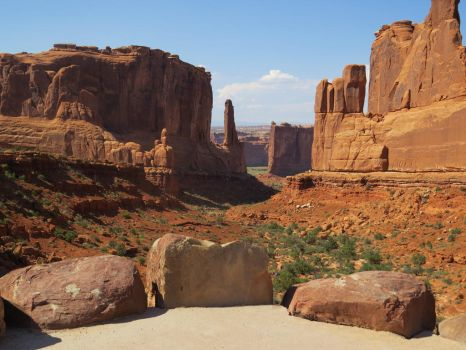 Park Avenue Trail Head, Moab UT by dolphinandcow