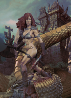 Red Sonja by Aste17