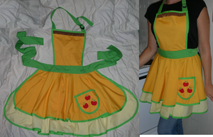 Pony Aprons!  Apple Jack by TianaTinuviel