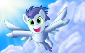 Soarin' Through the Sky by DATFriskyPickle